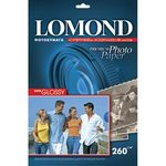 Бумага Lomond 1103130 Premium Super-Glossy Bright суперглянцевая 260г/м2, A3 20л.