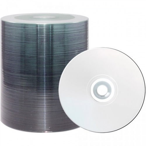 CD-R Ritek/Videx/CMC 700Mb 52x Full Inkjet Printable (118/23) Bulk 100шт